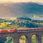 Discovering the locations of Austria and Germany with the DB-ÖBB EuroCity trains